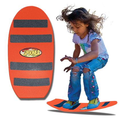 24 inch freestyle spooner board orange