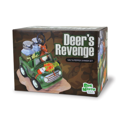 Deer's Revenge Salt and Pepper Shaker Set