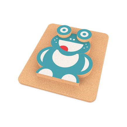 Elou 3D Frog Puzzle