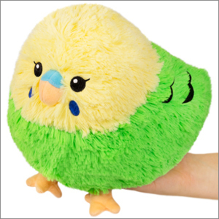 Mini Budgie Yellow/Green