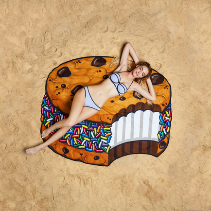 Gigantic Cookie Sandwich Beach Blanket