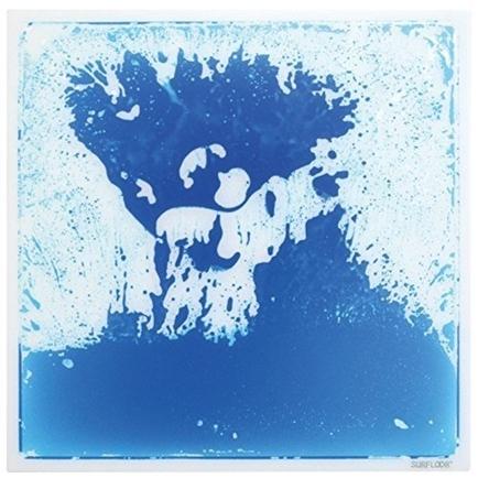 Square Liquid Tile - Blue