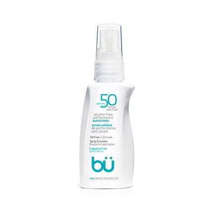 BU SPF50 Alcohol-Free Spray Fragrance Free 30ml