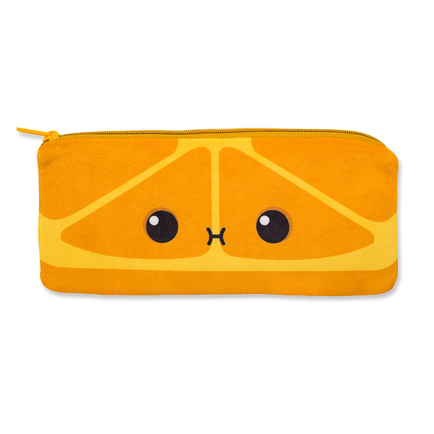 Cutie Fruities Pencil Pouches Orange