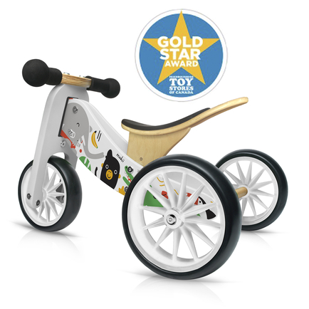 Kinderfeets Tiny Tots Convertible Bike - Makii