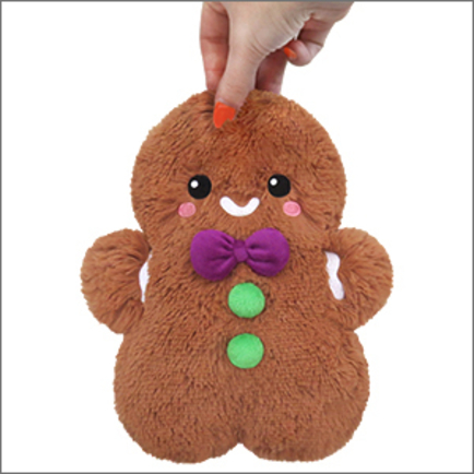 Mini Comfort Food Gingerbread Man