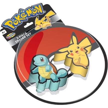 Pokemon Eraser 2-Pack