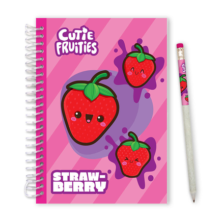 Cutie Fruities Sketch&Sniff Sketchpads Strawberry