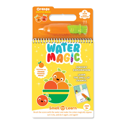 Smell and Learn Water Magic Activity Sets Orange