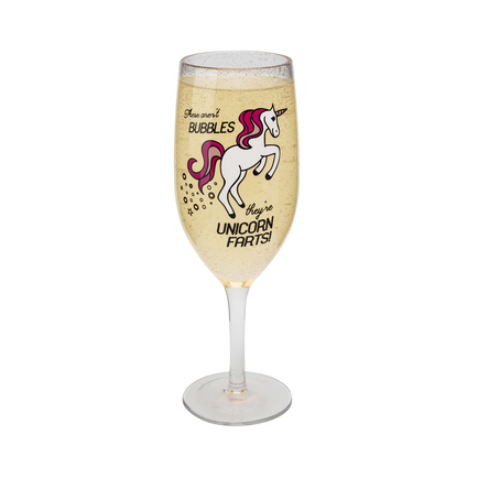 Unicorn Champagne Glass