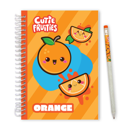 Cutie Fruities Sketch&Sniff Sketchpads Orange