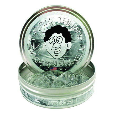 Liquid Glass - Crystal Clear 4 inch tin