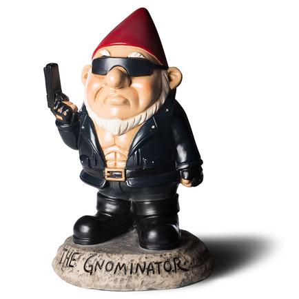 The Gnominator Garden Gnome