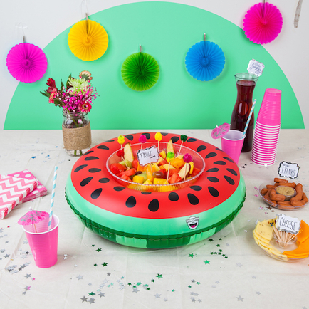 Inflatable Watermelon Serving Ring