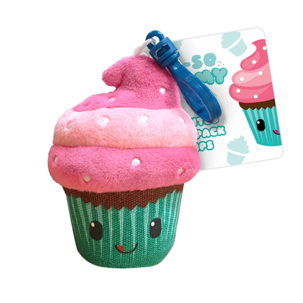 Oh So Yummy Backpack Buddies Cupcake