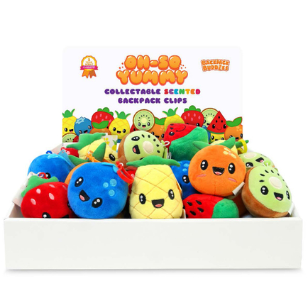 Fruit Troop Backpack Buddies Shelf/Counter Display