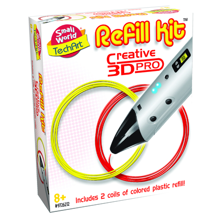 3D Pen Refill Red & Yellow