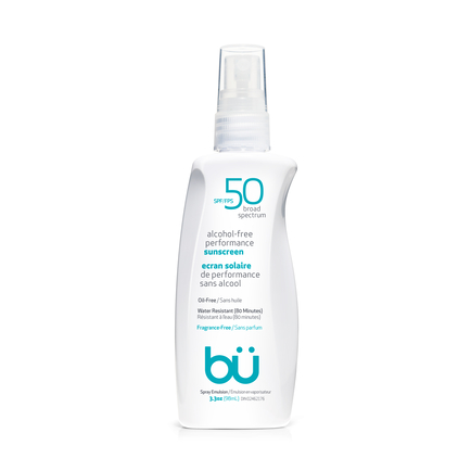 BU SPF50 Alcohol-Free Spray Fragrance Free 98ml