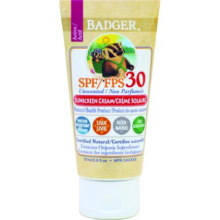 SPF30 Sunscreen Cream - Unscented