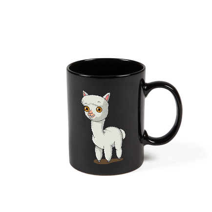 Colour Changing Alpaca Mug