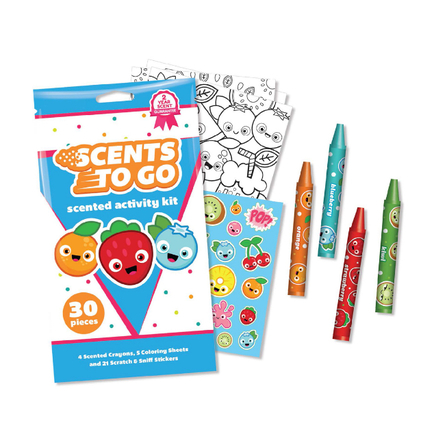 Scents To Go with Wax Crayons Activity Kits