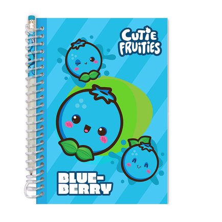 Cutie Fruities Sketch&Sniff Sketchpads Blueberry