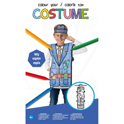 Colour Your Costume - Spy