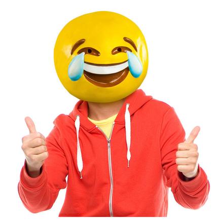 Tears of Joy Emoji Mask