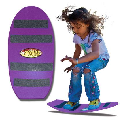 24 inch freestyle spooner board purple
