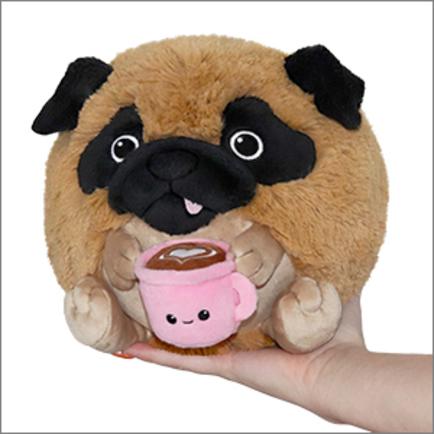 Mini Squishable Pug With Mug