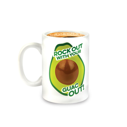 Rockin' Out Avocado Coffee Mug