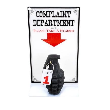 Complaint Department Sign
