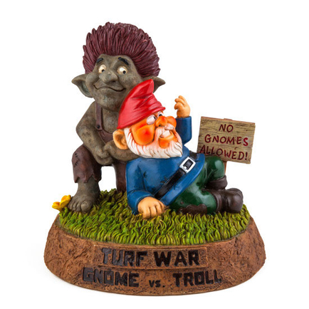 Turf War Gnome vs. Troll