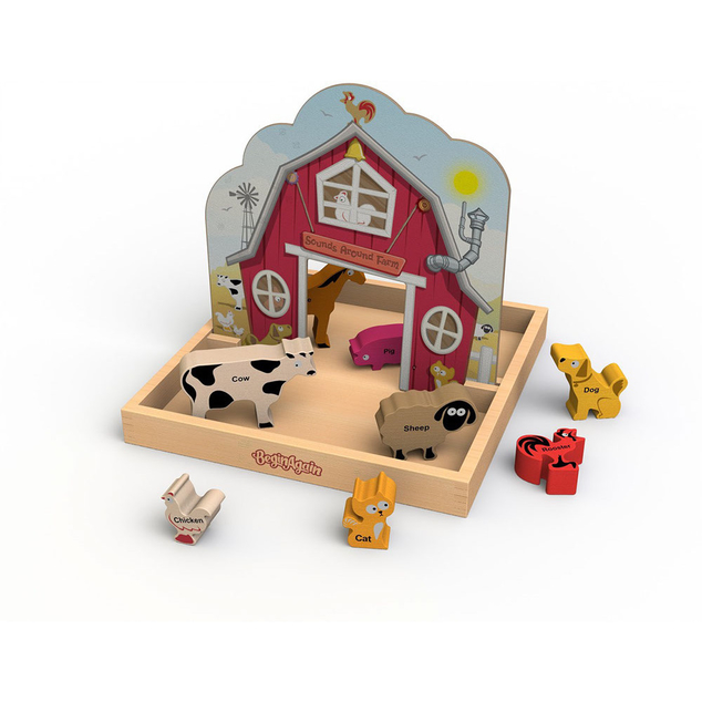 Toys That Start With B : Stortz toys sounds around the farm playset