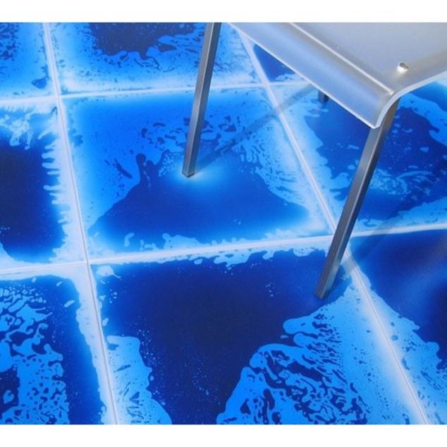 Stortz Toys Square Gel Floor Tile Blue