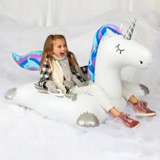 Winter Unicorn Snow Tube
