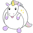 Mini Squishable Baby Unicorn