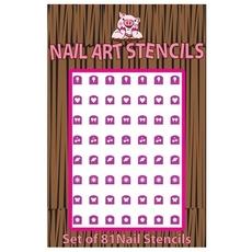 Combo (Pink) Nail Stencils
