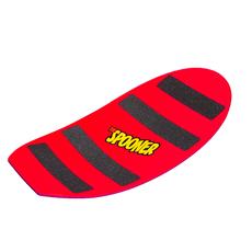27 inch pro model spooner board red