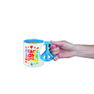 The Peace Love Coffee Mug