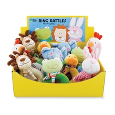 Display Box Happy Ring Rattles