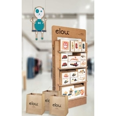 Elou Fully Loaded Floor Display