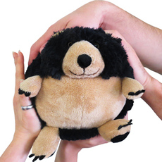 Mini Squishable Black Bear