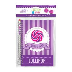 Sketch & Sniff Sketch Pads w/Smencil Lollipop