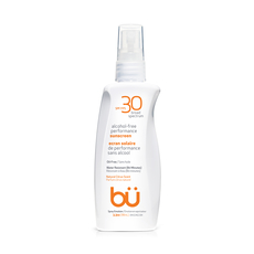 BU SPF30 Alcohol-Free Spray Nat Citrus Scent 98ml