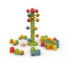 Ladybug Flower Tower Game