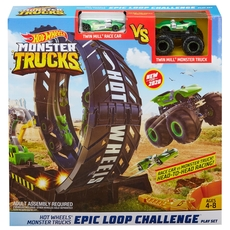 Hot Wheels - Monster Trucks Epic Loop Challenge