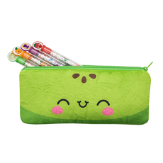 Cutie Fruities Pencil Pouches Green Apple