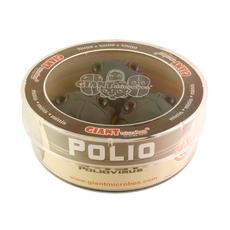 Polio Petri Dish