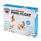 Giant Pool Float-White Swan